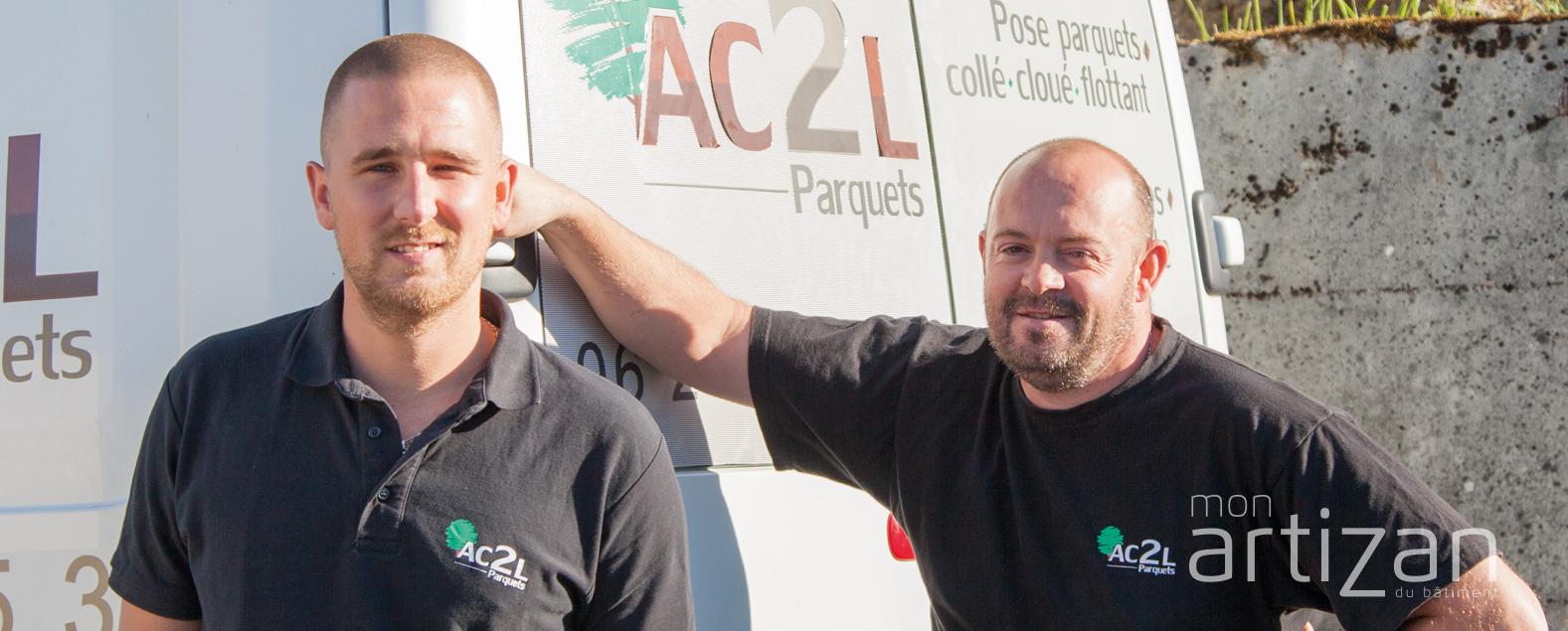 AC2L, LUDOVIC LAMBRECHTS ET ALBAN COLLERY : PARQUETS ET RÉNOVATION DE SOLS