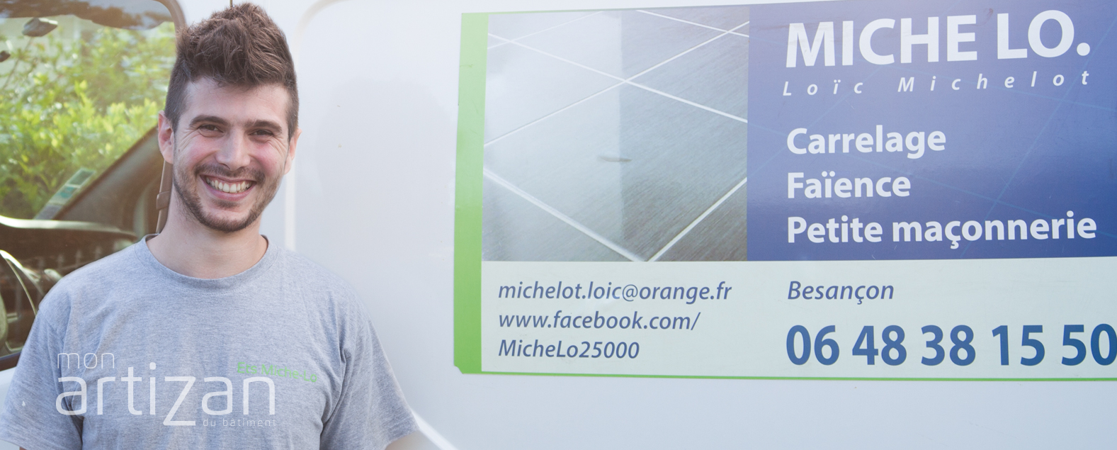 MICHE LO : LA PASSION DU CARRELAGE DE LOÏC MICHELOT.