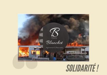 Solidarité Incendie de l'Ébénisterie Blanchot