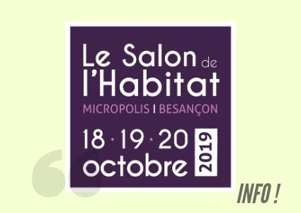 Le Salon de l'Habitat 2019, c'est bientôt !